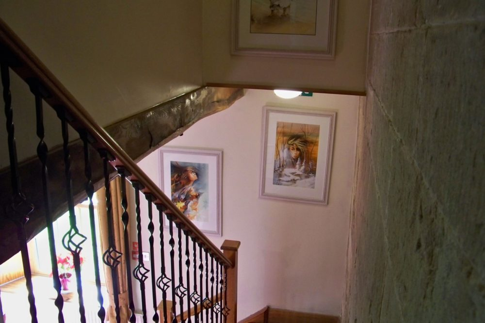 Stairs to Lounge